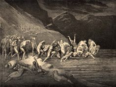 Gustave Doré Charon Ferrying the Damned