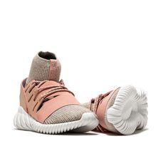 huge discount ab00a 99bba sneaker tubolar doom primeknit rosa-sneaker adidas originals modello  tubolar doom primeknit con tomaia in