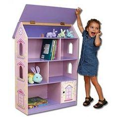 Kid's Dollhouse Bookshelf.  http://www.tinycrafts.com/sales.html
