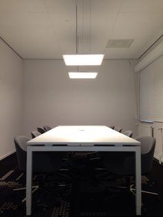 Coreview paneel in spreekkamer