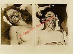 Bonnie & Clyde Corpses | ... the men behind the corpses are some of the posse who killed them Bonnie Parker, Bonnie Clyde, Famous Outlaws, The Babadook, Horror Pictures, Interesting History, Mug Shots, Crime, Weird