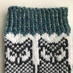 Crochet Socks, Knitted Hats, Knitting Stitches, Knitting Socks, Fair Isle Knitting, Clothes For Women, Tricot, Socks, Cutest Animals