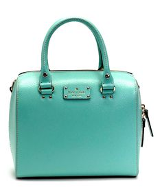 Look at this Kate Spade Robinsegg Alessa Wellesley Satchel on #zulily today!