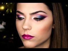 Makeup tutorial per Capodanno |NEW YEARS EVE Makeup Tutorial|Discoteca|Olga Makeupart - YouTube