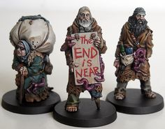 Check out some of the amazing miniatures for The Others: 7 Sins board game. This post features the forces of Sin painted by Studio McVey.