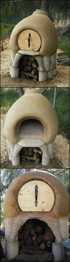 Build Your Own Cob Oven  http://theownerbuildernetwork.co/5u9q  Serving freshly baked pizza and bread in your outdoor living area is a great way to entertain your family and friends.  This cob oven may look like a pixie house, but it will allow you to bake homemade pizza and bread for years.