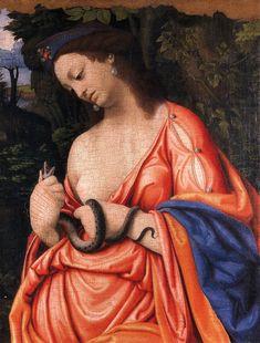 Cleopatra - Andrea Solari (Italian Renaissance painter of the Milanese school)