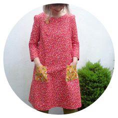 Ivy Arch: Esme Dress: Lotta Jansdotter Everyday Style