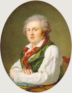 François-Xavier Fabre - Portrait of Laurent-Nicolas de Joubert [1787]