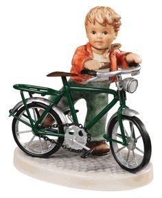 MI Hummel First Two Wheeler Hummel Figurine 2319 Sold Out