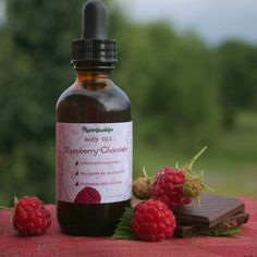 Hey, I found this really awesome Etsy listing at https://www.etsy.com/listing/102001338/raspberry-chocolate-body-oil-organic