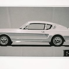 23 Things You Didn't Know About Ford Mustangs 1963 65 Mustang Fastback, Ford Mustangs, Concept Cars, Cool Cars, Vehicles, Car, Vehicle, Tools