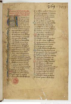Title : « Le Livre du roy Modus et de la royne Racio, qui parle des deduis et de pestilence ». Date of publication : 1301-1400 Français 1297 1r
