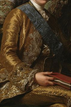 King Gustav III of Sweden and his brothers (detail), by Alexander Roslin (Swedish, Old Paintings, Beautiful Paintings, Fashion History, Fashion Art, Close Up Art, 18th Century Fashion, 17th Century, Detail Art, Detail King
