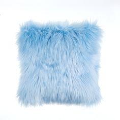Blue Room Decor, Teen Room Decor, Blue Rooms, Room Ideas Bedroom, Pink Room, Purple Pillows, Blue Throw Pillows, Cute Pillows, Soft Pillows