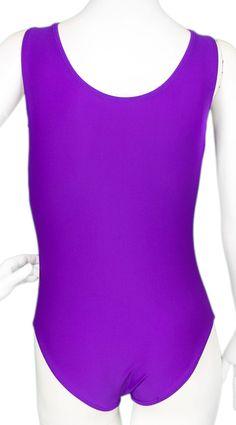 Purple Cat Leotard (Alternate View) #leotards #leotard #gymnastics #gymnast #halloweencostume