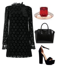 """""""Untitled #563"""" by mchlap on Polyvore featuring Giambattista Valli, Boohoo, Givenchy and Allurez"""