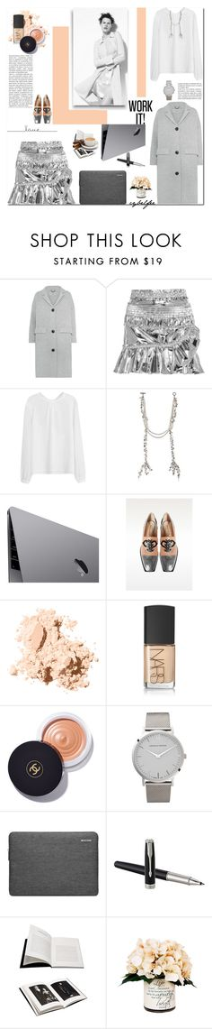 """""""Work it!"""" by cybelfee ❤ liked on Polyvore featuring Burberry, Isabel Marant, Venna, Emilio Pucci, Bobbi Brown Cosmetics, NARS Cosmetics, Chanel, Larsson & Jennings, Browns and Creative Displays"""