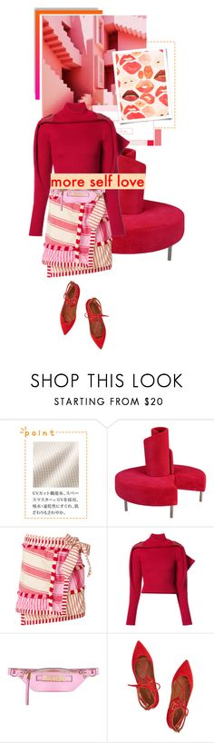 """ᶯᶱ 872"" by it-is-just-me ❤ liked on Polyvore featuring Market, Dodo Bar Or, Y/Project, Moschino and Aquazzura"