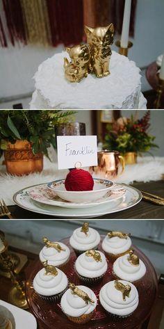 A Purrrrfect Wedding | Cat Themed Wedding • Bummed Bride