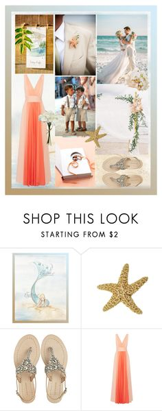 """Somewhere Over The Sea"" by jen8608 ❤ liked on Polyvore featuring Antik Batik, Halston Heritage and summerwedding"