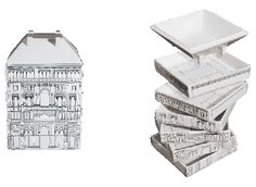 SELETTI Palazzo Governo 6 Soup dishes and 1 Soup tureen €80