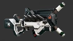 District 9 inspired Sub-Machine Gun Picture (3d, sci-fi, weapon)