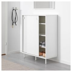 Online Ikea IKEA MACKAPAR Shoe cabinet/storage in Auckland NZ. Lowest prices and largest range of IKEA Furniture in New Zealand. Shoe Storage Cabinet White, Wardrobe Storage Cabinet, Ikea Storage Cabinets, Locker Storage, Ikea Shoe Cabinet, Hallway Shoe Storage, Shoe Cabinets, Wall Mounted Shoe Storage, Ikea Shoe Storage