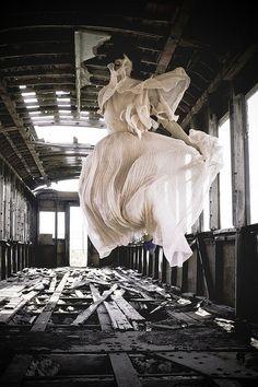 ghost train by Jesse Draper