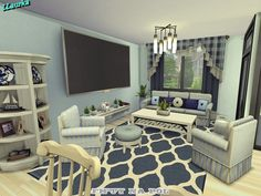 Found in TSR Category 'Sims 4 Residential Lots' Sims 4 House Plans, Sims 4 House Building, New House Plans, Sims 4 Cc Furniture Living Rooms, Sims 4 House Design, Plans Architecture, Casas The Sims 4, Sims 4 Build, House Layouts