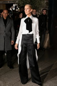 Celine Dion Tour, Long Sleeve White Gown, Tom Ford Shoes, Bubble Skirt, Old Hollywood Glamour, Embellished Dress, Look, Celebrity Style, Street Style