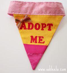 """Adopt Me"" Screen Printing with Freezer Paper"