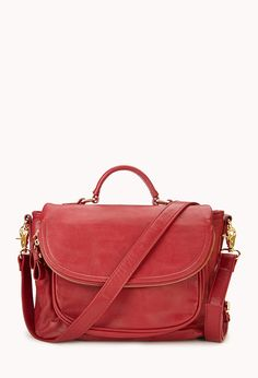 Everyday Faux Leather Satchel | FOREVER21 - 1060868258