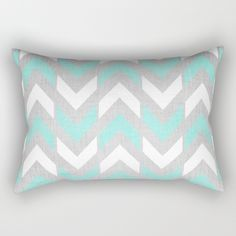 10% off and free worldwide shipping this labor day weekend! Absolutely love this arrow pillow in sea foam green, white and grey. Perfect for summer!