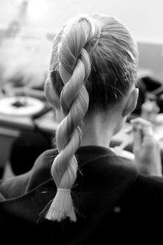 Unique hair twist