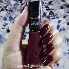Vinhedo - Vult French Manicure Acrylic Nails, Nails Polish, Nail Polish Colors, Manicure And Pedicure, Hair And Nails, My Nails, Nail Ring, Rose Nails, Luxury Nails