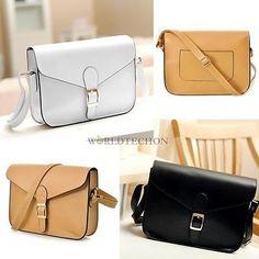 Women-Fashion-Satchel-PU-Leather-Handbag-Messenger-Shoulder-Bag-Purse