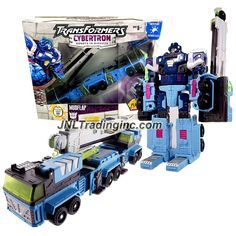 Hasbro Year 2005 Transformers Cybertron Series Voyager Class 8 Inch Tall Robot Action Figure - Decepticon MUDFLAP with Flip Out Energon Saw, Snap Open Blaster with 1 Missile Plus Earth Planet Cyber Key (Vehicle Mode: Crane Truck)