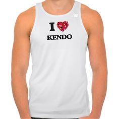 I Love Kendo Tees Tank Tops