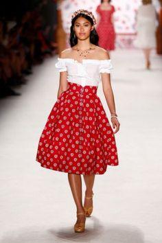 Sommer-Röcke Sommermode 2016 Lena Hoschek Fashion Week Berlin Juli 2015 - 2