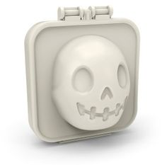 Order the Egg-A-Matic Hard Boiled Skull Egg Mold makes for fun and frightful meals. Find unique gifts and cool gadgets for Halloween at the Apollo Box.