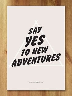 Modern Adventure PRINTABLE, Typography Printable, Type wall art, Contemporary Home Decor, Large Scal Favorite Quotes, Best Quotes, Favorite Things, Epic Quotes, Quotes To Live By, Life Quotes, Motivational Quotes, Inspirational Quotes, Pretty Words