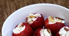 Healthy Dessert: Strawberry Banana Creams