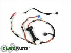 details about 2002 2008 dodge ram 1500 fog lamp light jumper wiring harness oem new mopar