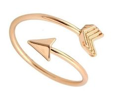 a1893660091 Anillo Para Mujer Ajustable Estilo Flecha de Amor Joya ~ Arrow Woman Ring