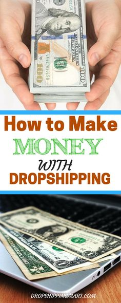 Anyone can make money online from home or wherever they want. Here is how you can  make money from home with dropshipping. It's a great work from home job especially for a stay home mom. (Tech Projects Money)