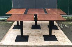 set of 5 medium oak solid wood restaurant