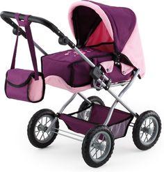 Bayer Design 1505700 - Kombi Puppenwagen Grande, pflaume: Amazon.de: Spielzeug