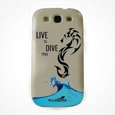 """Cover per tutti i modelli di telefoni Linea """"Live to Dive tribe""""  Modelli cavalluccio, manta, martello  #imascubadiver #immersioni #cover   Shop ->  goo.gl/9q8uGY"""