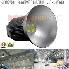 200 Watt Cool White LED High Bay Light